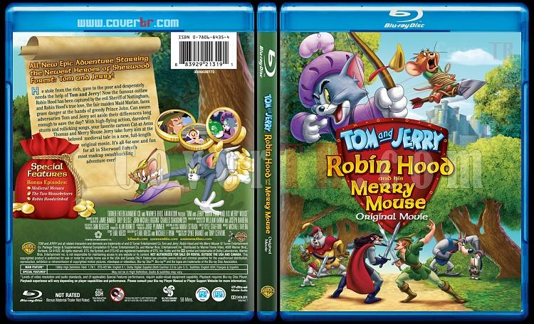 Tom and Jerry: Robin Hood and His Merry Mouse - Scan Bluray Cover - English [2012]-3jpg
