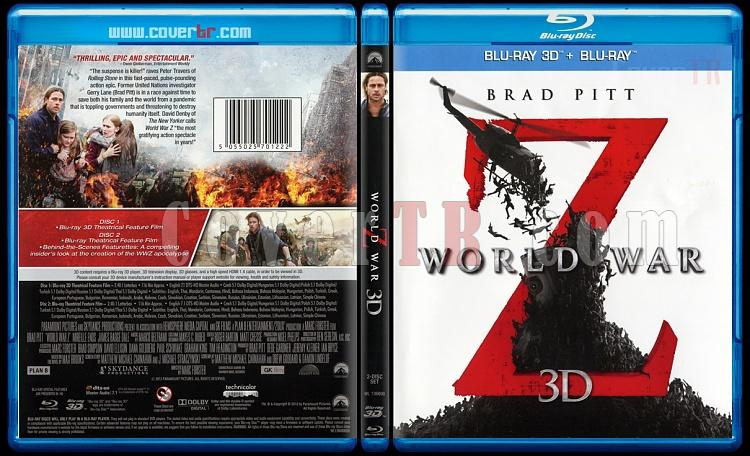 World War Z (Dünya Savaşı Z) - Scan Bluray Cover - English [2013]-world-war-z-dunya-savasi-z-scan-bluray-cover-english-2013jpg