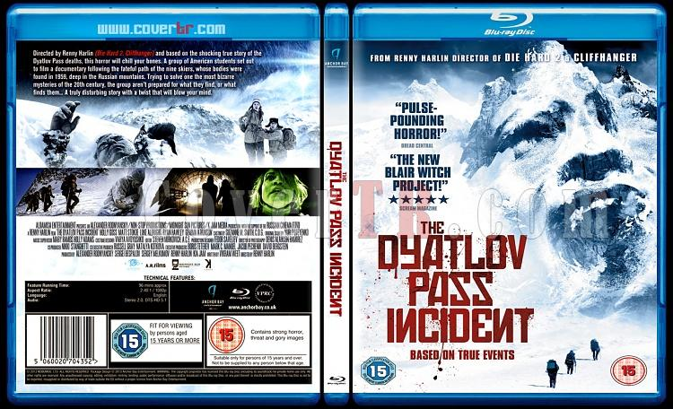 The Dyatlov Pass Incident / Devil's Pass (Şeytan Geçiti) - Scan Bluray Cover - English [2013]-daytlonjpg