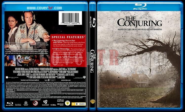 The Conjuring - Scan Bluray Cover - English [2013]-conjujpg