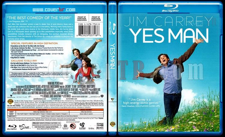Yes Man (Bay Evet) - Scan Bluray Cover - English [2008]-yes-man-bay-evetjpg