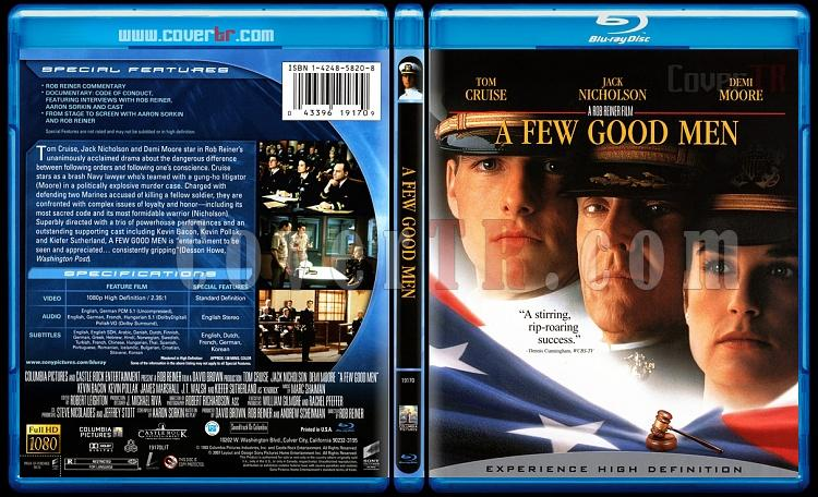A Few Good Men (Birkaç İyi Adam) - Scan Bluray Cover - English [1992]-few-good-men-birkac-iyi-adam-scan-bluray-cover-english-1992jpg