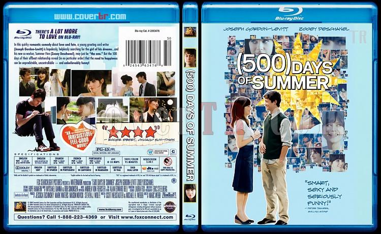 (500) Days of Summer (Aşkın (500) Günü) - Scan Bluray Cover - English [2009]-500-days-summer-scanjpg