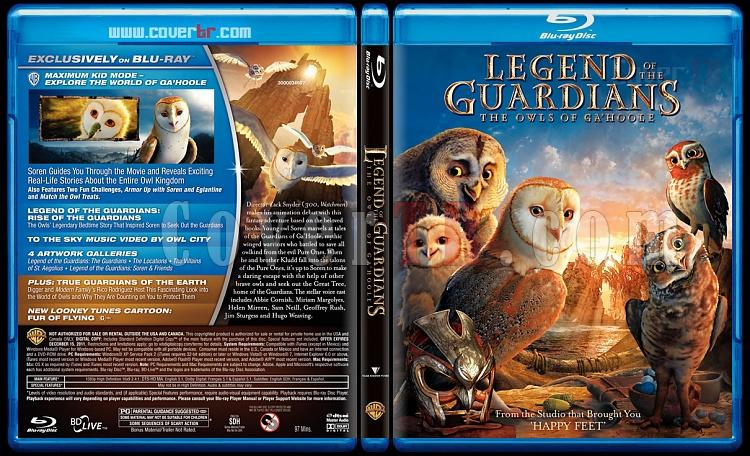 Legend of the Guardians: The Owls of Ga'Hoole - Scan Bluray Cover - English [2010]-legend-guardians-owls-gahoole-scan-bluray-cover-english-2010jpg