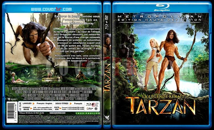 Tarzan - Custom Bluray Cover - French [2013]-onizlemejpg