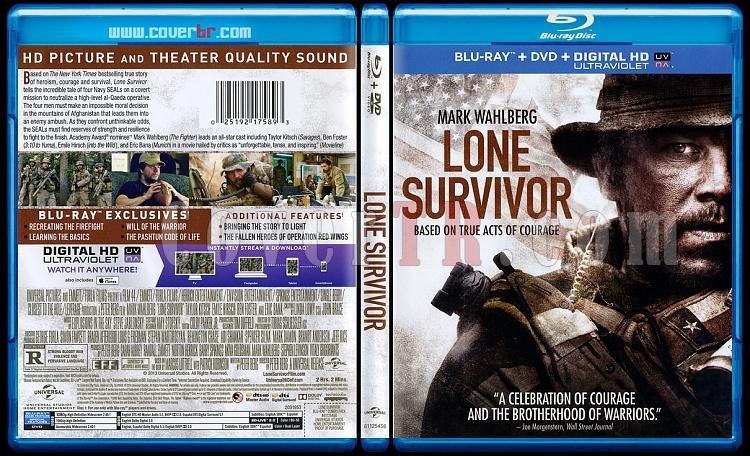 Lone Survivor (Son Kalan) - Scan Bluray Cover - English [2013]-onizlemejpg