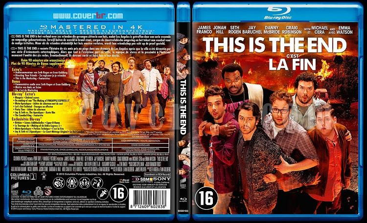 This Is the End (Buraya Kadar) - Scan Bluray Cover - Dutch/French [2013]-onizlemejpg