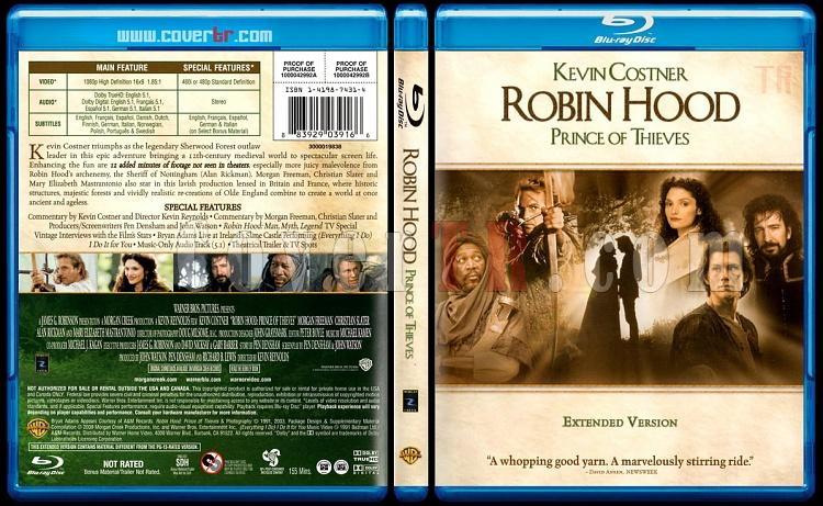 Robin Hood: Prince of Thieves - Scan Bluray Cover - English [1991]-robin-hood-prince-thieves-scab-bluray-cover-english-1991jpg