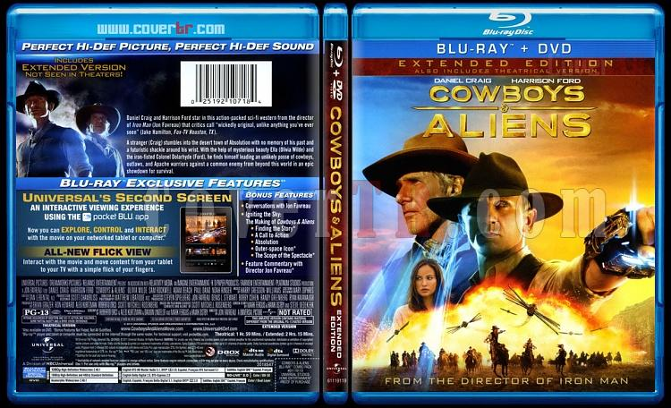 Cowboys & Aliens (Kovboylar ve Uzaylılar) - Scan Blu-ray Cover - English [2011]-cowboys-aliens-blu-ray-scanjpg