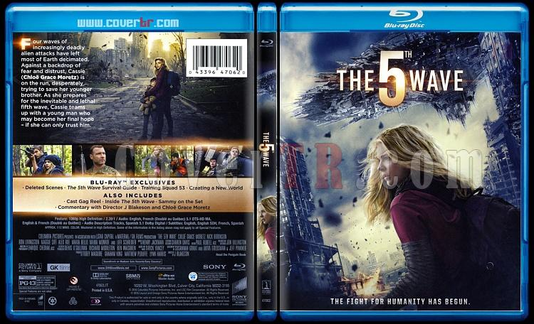 The 5th Wave (5. Dalga) - Scan Bluray Cover - English [2016]-55-wavejpg