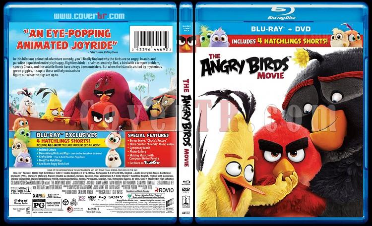 The Angry Birds Movie (Kızgın Kuşlar) - Scan Bluray Cover - English [2016]-birdsjpg