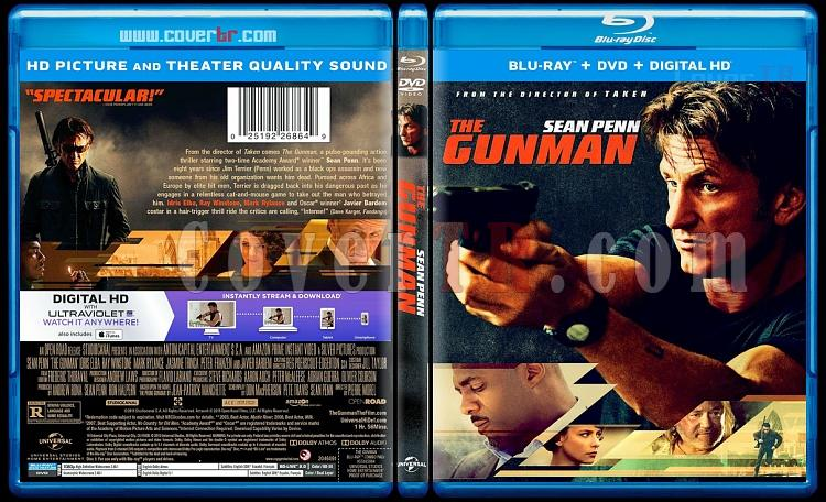 The Gunman - Scan Bluray Cover - English [2015]-gunjpg