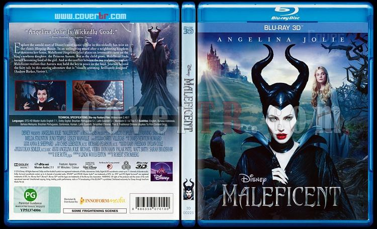 Maleficent (Malefiz) - Scan Bluray Cover - English [2014]-maleficejpg
