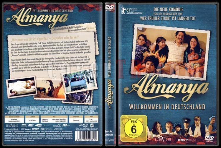 Willkommen in Deutschland (Almanya) - Scan Dvd Cover - Deutsch [2011]-almanya-willkommen-deutschland-dvd-coverjpg