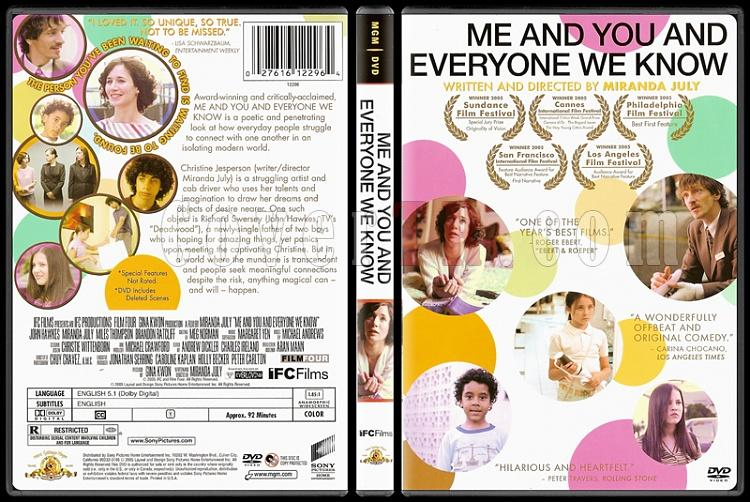 Me and You and Everyone We Know (Ben ve Sen ve Diğerleri) - Scan Dvd Cover - English [2005]-8jpg