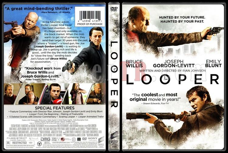Looper (Tetikçiler) - Scan Dvd Cover - English [2012]-1jpg