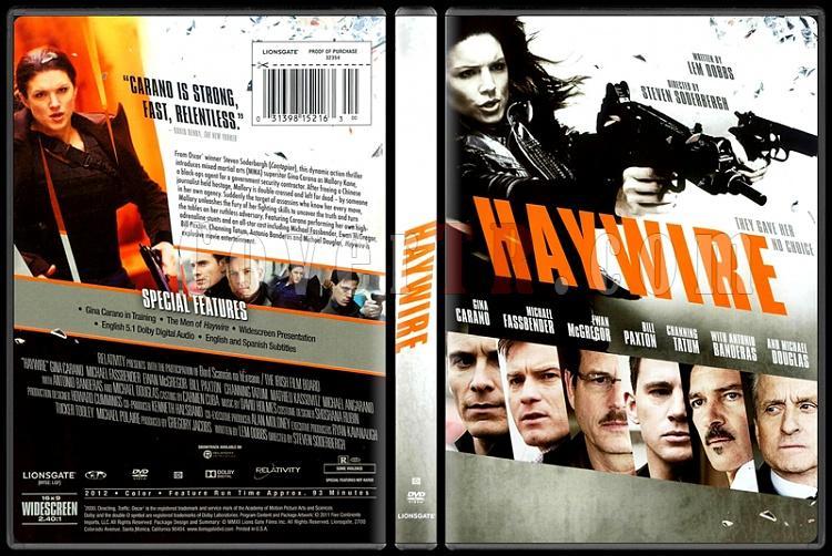 Haywire (Çapraz Ateş) - Scan Dvd Cover - English [2011]-haywire-capraz-ates-scan-dvd-cover-english-2011-picjpg