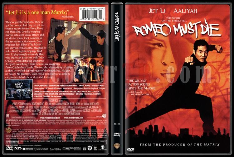 Romeo Must Die (Romeo Ölmeli) - Scan Dvd Cover - English [2000]-romeo-must-die-romeo-olmeli-scan-dvd-cover-english-2000-picjpg