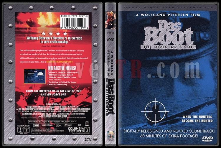 Das Boot (Denizaltı) - Scan Dvd Cover - English [1981]-das-bootjpg