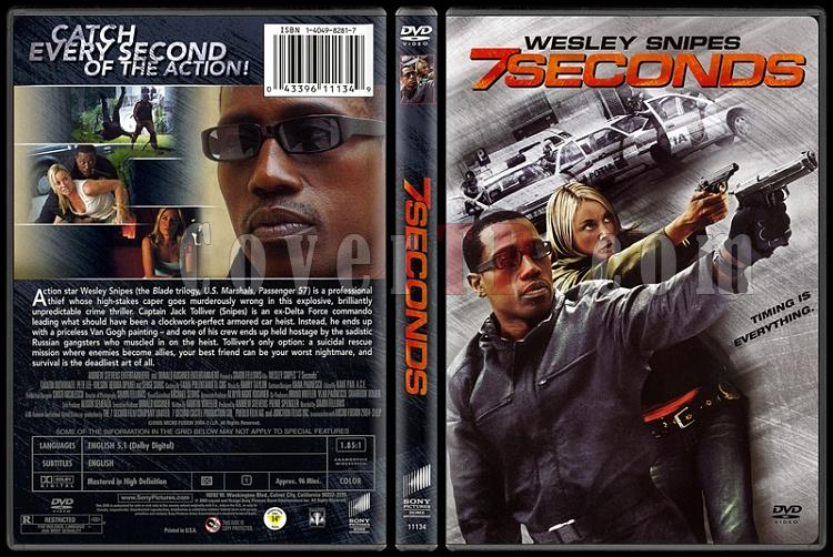 7 Seconds (7 Saniye) - Scan Dvd Cover - English [2005]-7-seconds-7-saniyejpg
