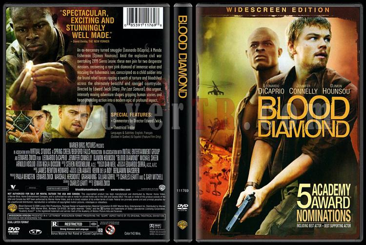 Blood Diamond (Kanlı Elmas) - Scan Dvd Cover - English [2006]-blood-diamond-kanli-elmasjpg
