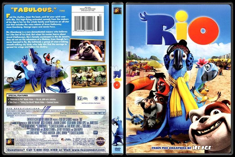 Rio - Scan Dvd Cover - English [2011]-riojpg