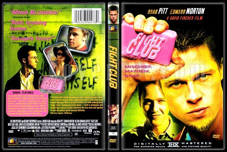 Fight Club (Dövüş Kulübü) - Scan Dvd Cover - English [1999]-11111111jpg