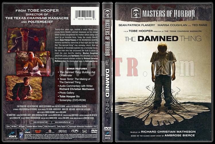 Masters of Horror: The Damned Thing - Scan Dvd Cover - English [2006]-masters-horror-damned-thing-scan-dvd-coverjpg