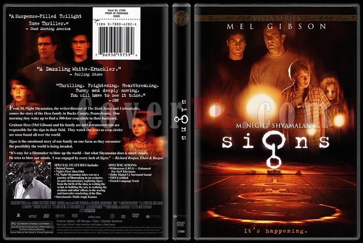 Signs (İşaretler) - Scan Dvd Cover - English [2002]-signs-isaretlerjpg