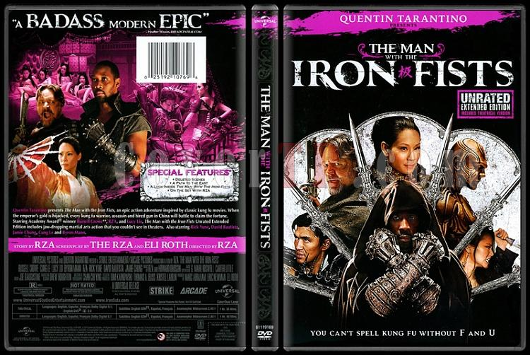 The Man with the Iron Fists (Demir Yumruklu Adam) - Scan Dvd Cover - English [2012]-man-iron-fists-demir-yumruklu-adamjpg