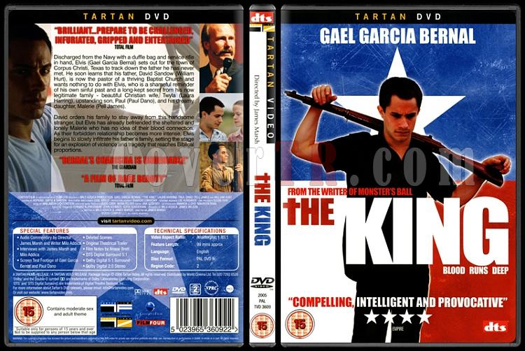 The King - Scan Dvd Cover - English [2005]-1jpg