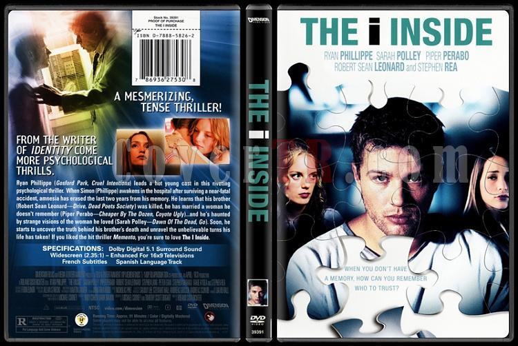 The I Inside (İçimdeki Ben) - Scan Dvd Cover - English [2004]-2jpg