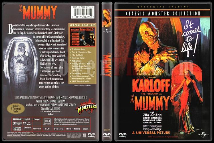 The Mummy (Mumya) - Scan Dvd Cover - English [1932]-mummy-mumya-scan-dvd-cover-english-1932-prejpg