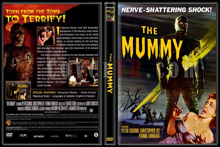 The Mummy (Mumya) - Scan Dvd Cover - English [1959]-mummy-mumya-custom-dvd-cover-english-1959-prejpg