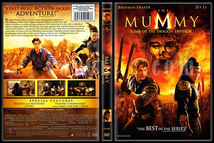 The Mummy: Tomb of the Dragon Emperor (Mumya: Ejder İmparatoru´nun Mezarı) - Scan Dvd Cover - English [2008]-mummy-tomb-dragon-emperor-mumya-ejder-imparatoru-nun-mezarijpg