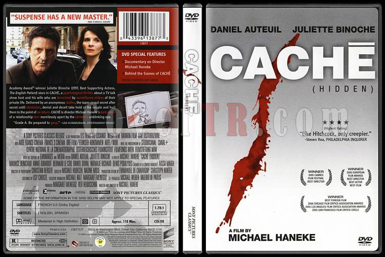 Caché (Saklı) - Scan Dvd Cover - English [2005]-cachi-saklijpg