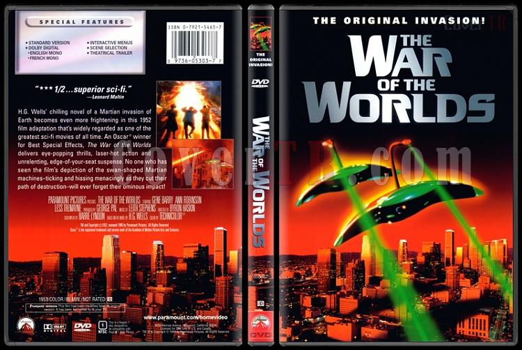 The War of the Worlds (Dünyalar Savaşı) - Scan Dvd Cover - English [1953]-war-worlds-dunyalar-savasijpg