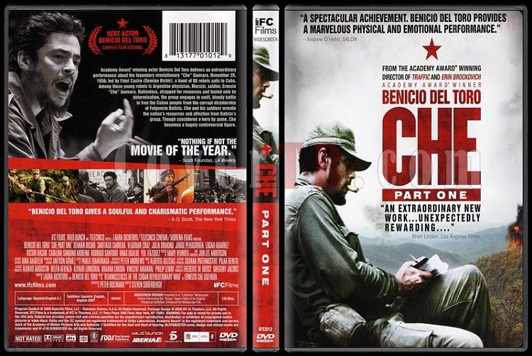 Che: Part One - Scan Dvd Cover - English [2008]-che-part-onejpg