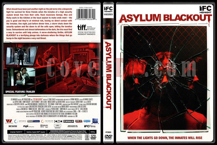 Asylum Blackout (Cinnet Gecesi) - Scan Dvd Cover - English [2011]-asylum-blackout-cinnet-gecesijpg
