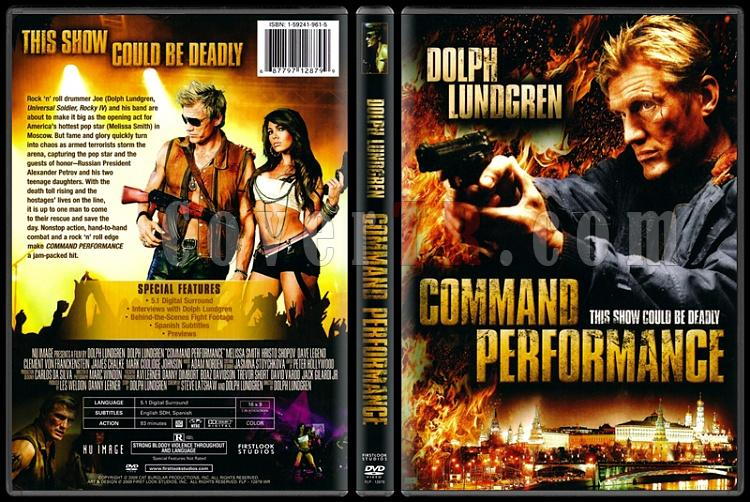 Command Performance (Ölüm Gösterisi) - Scan Dvd Cover - English [2009]-command-performance-olum-gosterisijpg