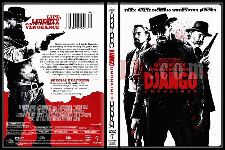 Django Unchained (Zincirsiz) - Scan Dvd Cover - English [2012]-django-unchained-zincirsizjpg