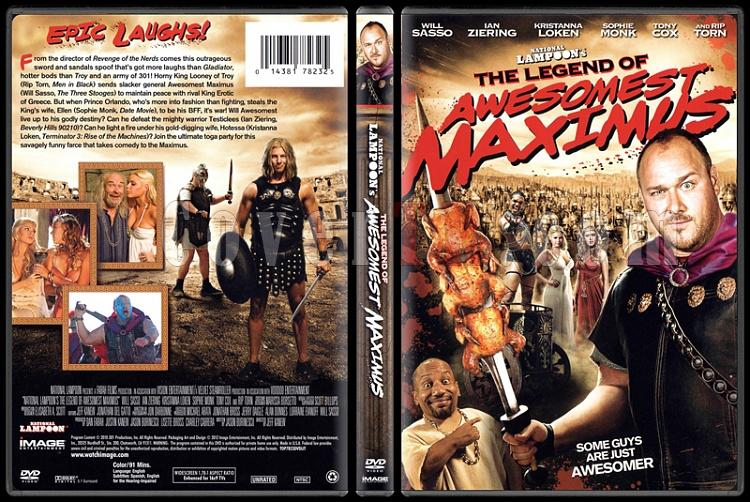 The Legend of Awesomest Maximus  - Scan Dvd Cover - English [2011]-onizlemejpg