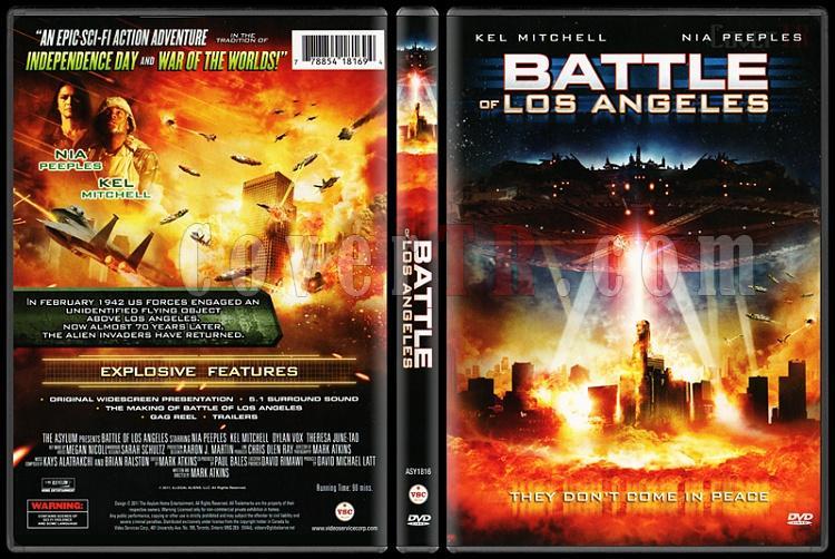 Battle Of Los Angeles (Los Angeles Savaşı) - Scan Dvd Cover - English [2011]-battle-los-angeles-los-angeles-savasi-scan-dvd-cover-english-2011-prejpg