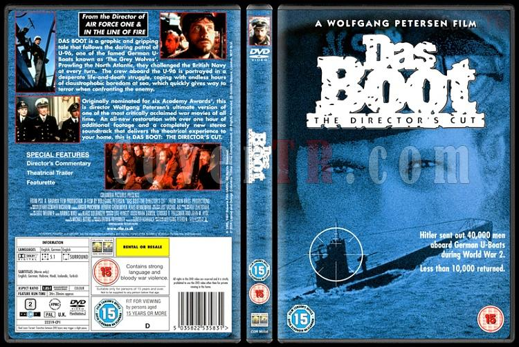 Das Boot (Mukaddes Vazife) - Scan Dvd Cover - English [1981]-das-boot-mukaddes-vazife-scan-dvd-cover-english-1981-prejpg