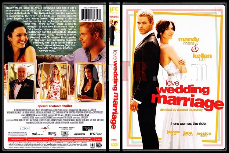 Love Wedding Marriage (İyi Günde Kötü Günde) - Scan Dvd Cover - English [2011]-love-wedding-marriage-iyi-gunde-kotu-gundejpg