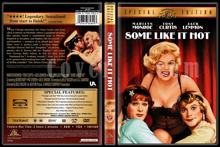 Some Like It Hot (Bazıları Sıcak Sever) - Scan Dvd Cover - English [1959]-some-like-hot-bazilari-sicak-severjpg