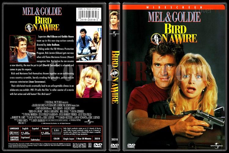 Bird on a Wire (Teldeki Kuş) - Scan Dvd Cover - English [1990]-bird-wire-teldeki-kusjpg