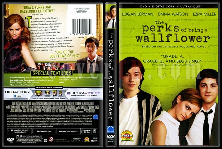 The Perks of Being a Wallflower (Saksı Olmanın Faydaları) - Scan Dvd Cover - English [2012]-perks-being-wallflower-saksi-olmanin-faydalari-scan-dvd-cover-english-2012-prejpg