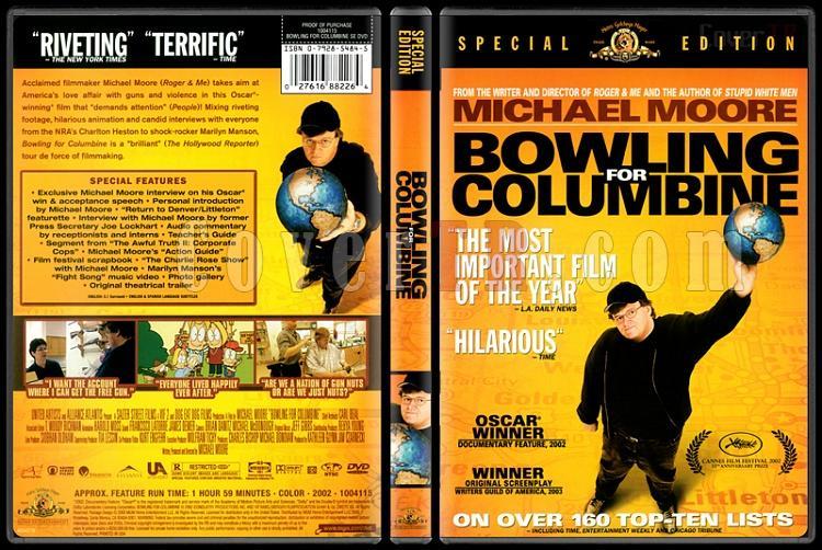 Bowling for Columbine (Benim Cici Silahım) - Scan Dvd Cover - English [2002]-bowling-columbine-benim-cici-silahim-scan-dvd-cover-english-2002-prejpg