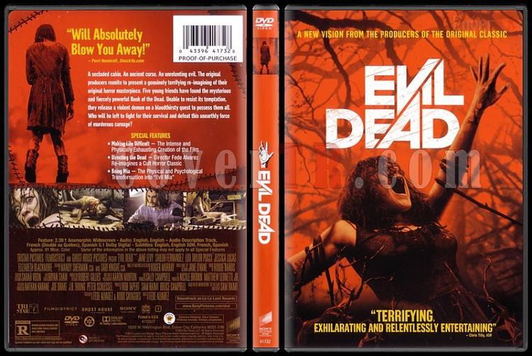 Evil Dead (Kötü Ruh) - Scan Dvd Cover - English [2013]-evil-dead-kotu-ruh-scan-dvd-cover-english-2013-prejpg